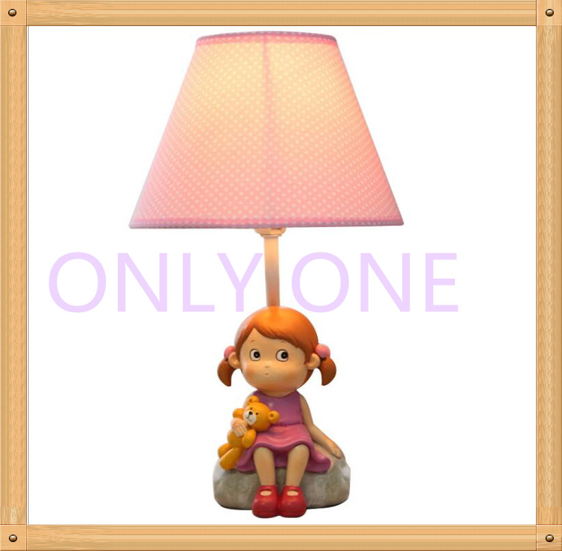 Sweet Girl table reading lamp for baby gifts