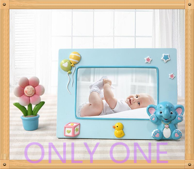 Wholesale Cartoon Baby Resin Photo Frame